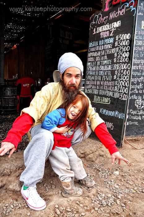 Atacama Father And Daughter