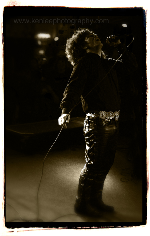 """Jim Morrison"" with Break On Through, 17 December 2011"