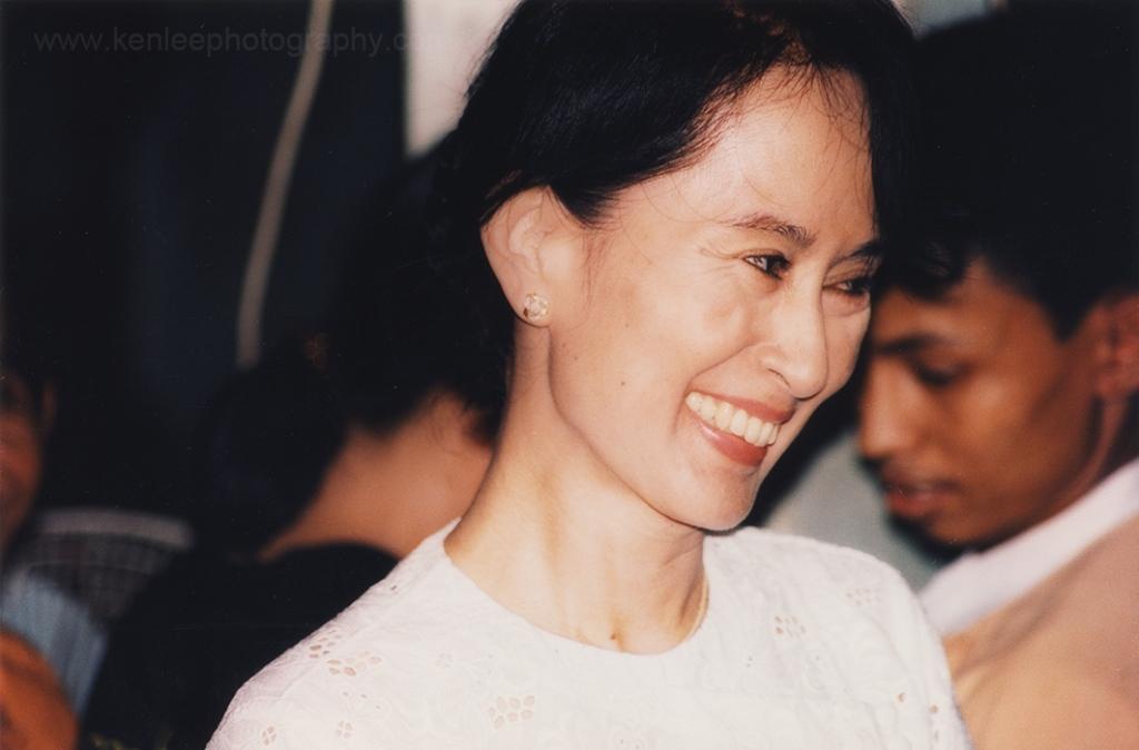 Aung San Suu Kyi of Burma