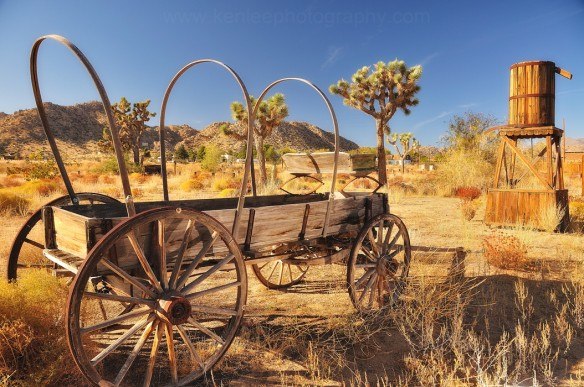 Wagon of the Old West