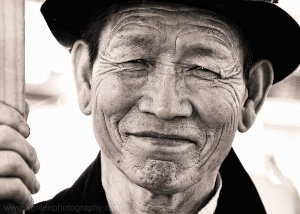 Portrait of a Tibetan Man