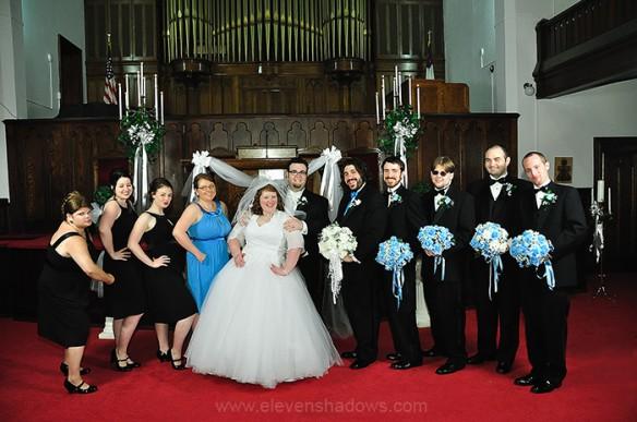 Informal Wedding Portraits