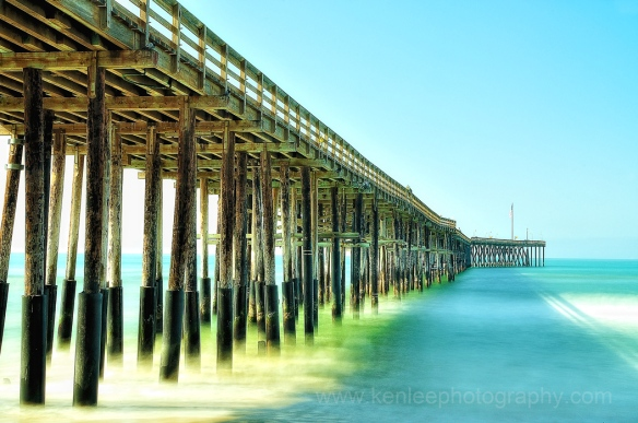 Ventura Pier, California - Long Exposure (color)