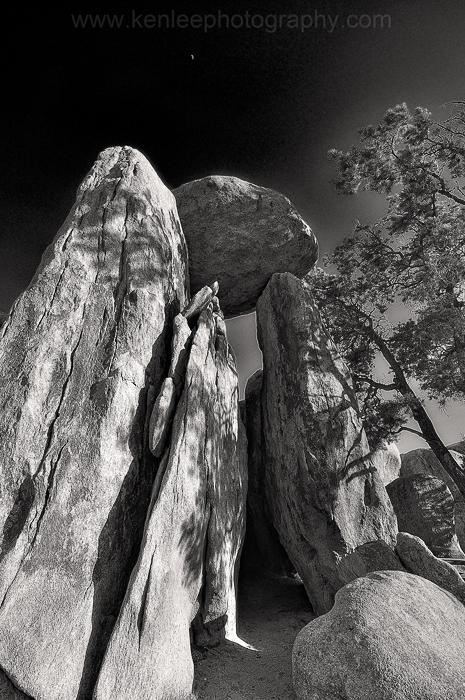 Balancing Rock, Hidden Valley, Joshua Tree