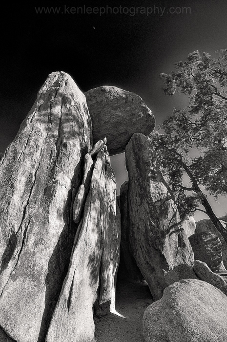 Balancing Rock, Hidden Valley, Joshua Tree