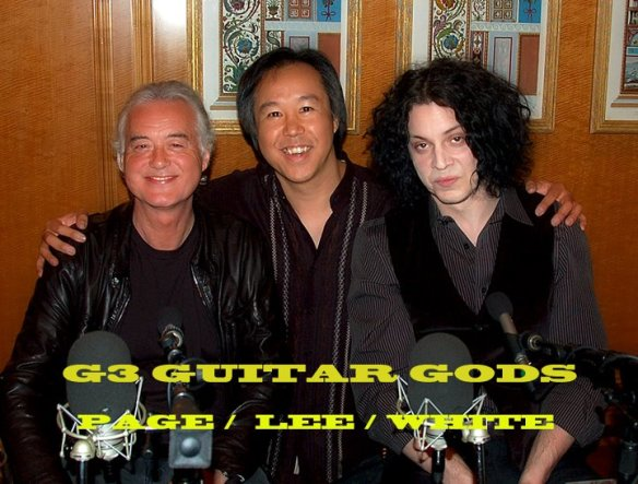 Page Lee White G3 Guitar Gods