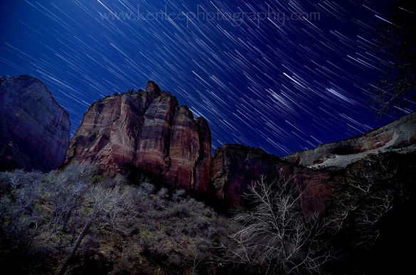 Big Bend Star Trails