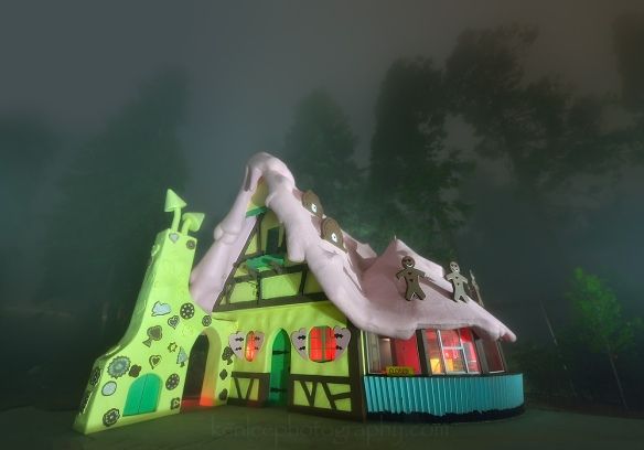 0122kenlee_231sf8iso200-4000k_2016-05-21_2139_santasvillage-gingerbreadhouseinfog-lightpainting-fog-1000px